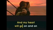 Celin Dion - My Heart Will Go On - Karaoke