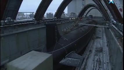 Атомна подводница пр. 955 шифър «борей» «владимир Мономах»