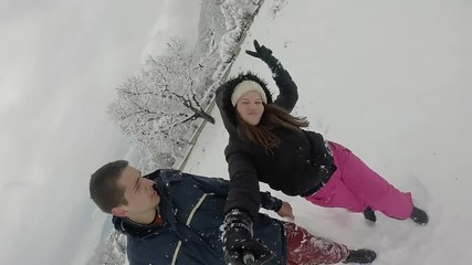 Един снежен ден в Карлово