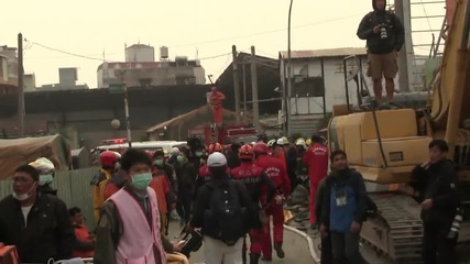 Taiwan: Search for survivors continues after deadly earthquake in Tainan