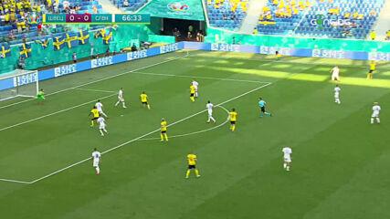 Швеция - Словакия 1:0 /репортаж/
