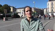 France: Farmers bring cows to downtown Nantes in protest of biogas project