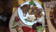 Pork ribs with vegetables and cheese - Papa`s kitchen recipe