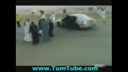 Arabski drift zlopoluka