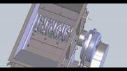 Дробилка на Solidworks