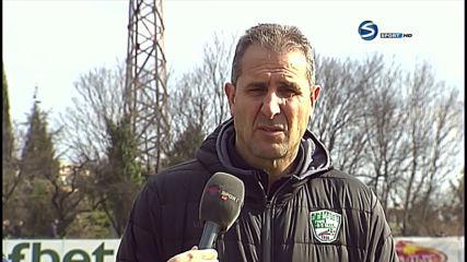 Димитър Димитров: Първото полувреме не стояхме добре