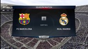 Fifa 15 Pc Gameplay { Real Madrid Vs Barcelona } { Match 2 }