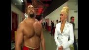 Wwe Кечмания - Русев се съгласява Lana да го придружи до ринга за мача