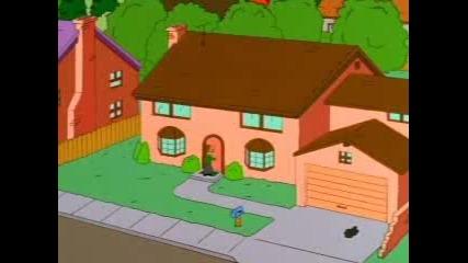The Simpsons - Хоумър Пуши Трева