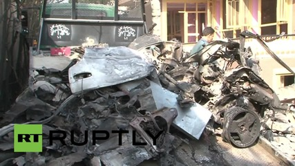 Afghanistan: Suicide bombers strike near Russian embassy