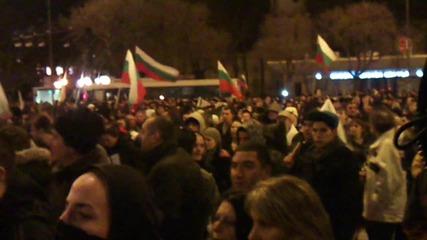 Протест във Варна 19.2.2013 трета част