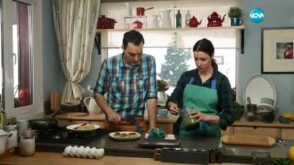 Картофени кюфтета със зелен сос - Бон апети (31.03.2017)