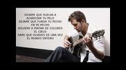 Pablo Alborán - Llueve (con letra)