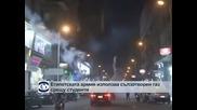 Египетската армия използва сълзотворен газ срещу студенти в Кайро