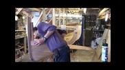 Пасване на летви. Дървена лодка част 3