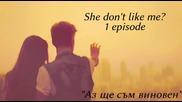 """She don't like me? 1еп. """"аз ще съм виновен."""""""
