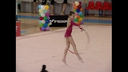 Над 100 гимнастички в детския турнир на Симона Пейчева