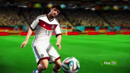 2014 Fifa World Cup - New Skills and Celebrations Tutorial