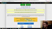 Coinpot , извършена успешна транзакция без такса.