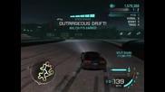 Nfs Carbon - Drift 3000000+ World Record in Drift challenge