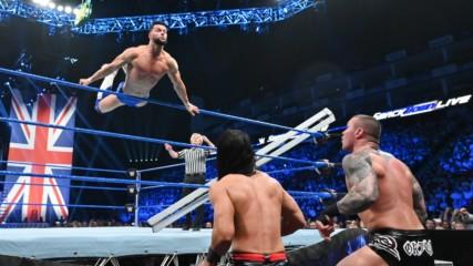 Finn Bálor vs. Ali vs. Randy Orton vs. Andrade: SmackDown LIVE, 14 May, 2019