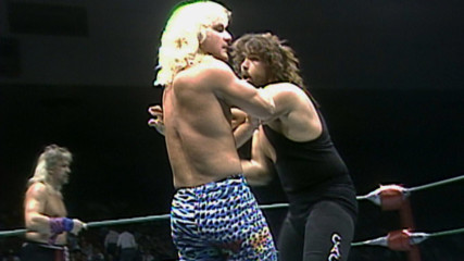 Cactus Jack collides with Jeff Jarrett and Rock 'n' Roll Express in rare AWA Hidden Gem