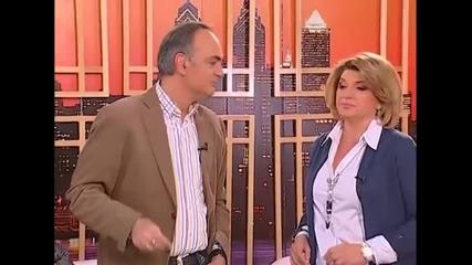 Aleksandar Ilic i Biljana Jevtic - Dal je to navika - Utorkom u 8 - (TvDmSat 2014)