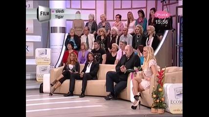 Indira Radic - Gostovanje (1.deo) - Nedeljno popodne kod Lee Kis - (TV Pink 2012)