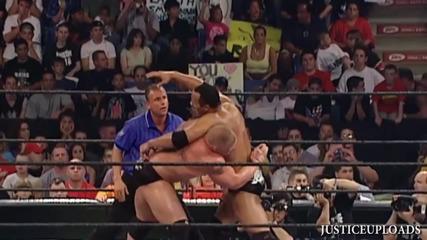 Лятно Тръшване 2002 - Скалата срещу Брок Леснар.