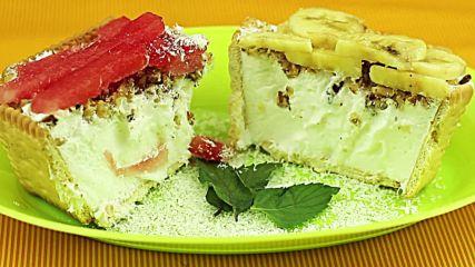 Разхладителен сладоледен десерт