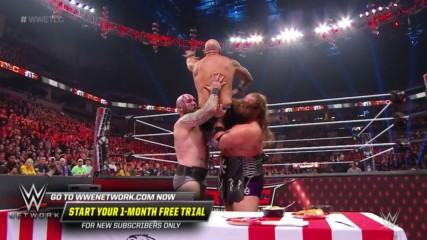 The Viking Raiders send Karl Anderson through the KFC Table: WWE TLC 2019