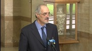 Switzerland: Head of Syrian govt delegation brands opposition 'amateurs'