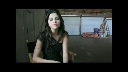 Заснемането на ' Who Says ' ( Selena Gomez & The Scene ) !!
