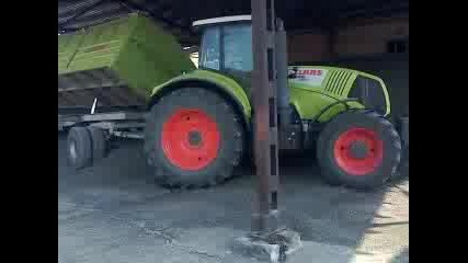 Claas axion830 buksuva