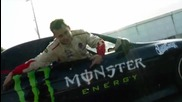 Monster Energy Team Triple Black - Drifting, Girls, & Monster