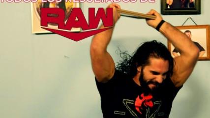 Todos los resultados de Raw: WWE Ahora, Octubre 15, 2019