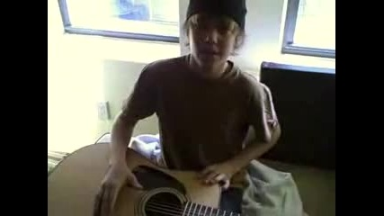 Justin Drew Bieber - August Rush - style Guitar Playing