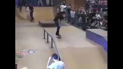 Worlds Best Skateboarders 2009 - Rodney Mullen, Tony Hawk & Bam Margera