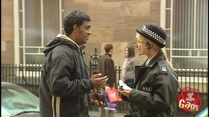 Полицейска целувка - Скрита камера
