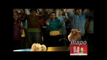 Chipmunks Girls - Почвай ме (video)