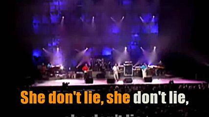 Eric Clapton - Cocaine - demo karaoke