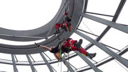 Germany: Fire department practices rescue operation atop Reichstag dome