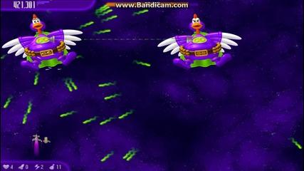 Chicken Invaders 4 Boss Battle Part 4