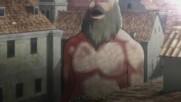 Attack on Titan Епизод 5 Bg Subs Високо Качество