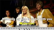 Waterloo in the style of Abba | Karaoke with Lyrics