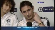 David Luiz се ебава на Torres и Lampard