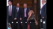 Премиерът на Гърция Андонис Самарас започва тежки преговори с Берлин и Париж