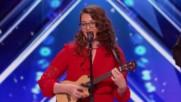 Mandy Harvey Try ( America's Got Talent 2017 ) - чуйте колко губи, защото тя не се чува, глуха е