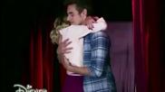Violetta 3: Виолета и Леон се прегръщат (еп.66)