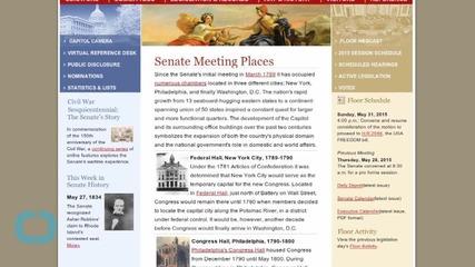 Senators Don't Let Rand Paul Speak on PATRIOT Act